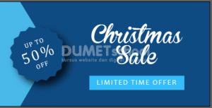 Membuat Banner Sale Natal di Illustrator