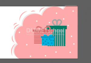 Membuat Banner Tahun Baru di Illustrator Part 2