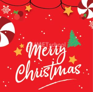 Membuat Poster Merry Christmas di Illustrator