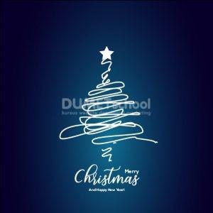 membuat Poster Natal dengan Adobe Illustrator