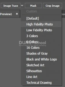cara menghilangkan warna background logo di adobe illustrator
