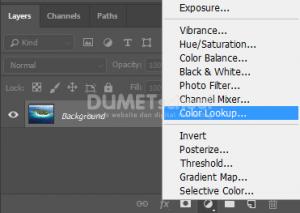 v Menggunakan Lut Di Adobe Photoshop