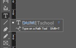 v Memasukkan foto Pada Teks di Adobe Indesign