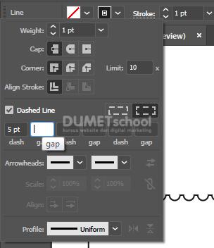Membuat Kerangka Desain Kupon di Adobe Illustrator