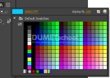 Cara Menggunakan Paint Bucket Tool di Adobe Animate