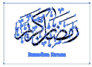 Trace Gambar Ramadhan Kareem Menjadi Vektor di Adobe Illustrator