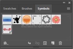 Cara Menggunakan Simbol yang Ada di Adobe Illustrator