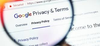 privacy policies google