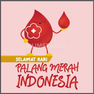 Membuat Poster Palang Merah Indonesia