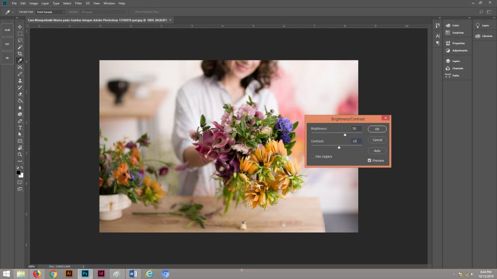 Cara Memperbaiki Warna pada Gambar dengan Adobe Photoshop