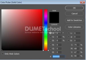 Membuat Efek Foto Gelap untuk Background Website di Adobe Photoshop