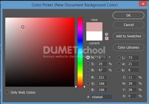 Cara Mengubah Warna Tampilan Canvas Pada Photoshop