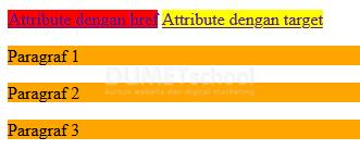 Cara Menggunakan Attribute Pada CSS3