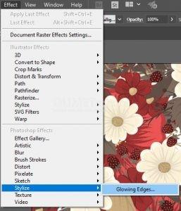 11. Memberikan Efek Glowing Edge di Illustrator
