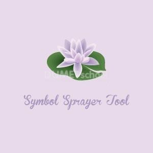 Cara Menggunakan Symbol Sprayer Tool