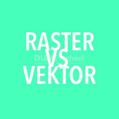 Perbedaan Antara Vektor dan Raster