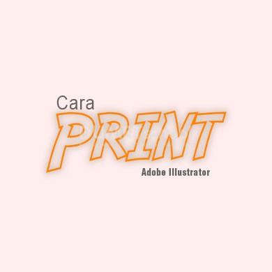 Cara Print di Adobe Illustrator
