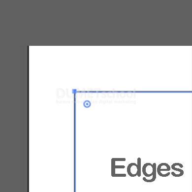 Fungsi Show Edges dan Hide Edges pada Adobe Illustrator