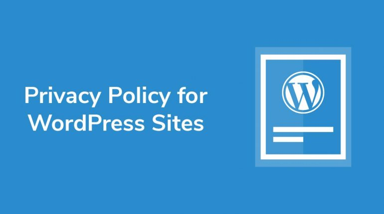 wordpress privacy policy update