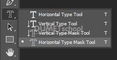 Cara Menggunakan Type Mask Tool