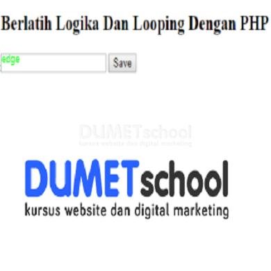 Berlatih Logika Dan Looping Dengan PHP