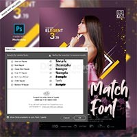 Cara Menggunakan Match Font di Photoshop