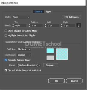 Mengubah Warna Artboard di Adobe Illustrator