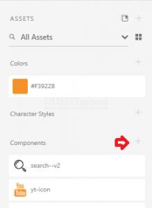 Cara Memasukan Icon ke Dalam Komponen XD
