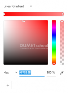 Membuat Warna Gradient Pada Adobe XD