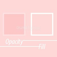 Perbedaan Fill dan Opacity di Adobe Photoshop