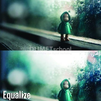 Memberi Efek Equalize di Adobe Photoshop