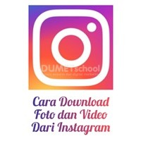 Cara Download Foto dan Video Dari Instagram