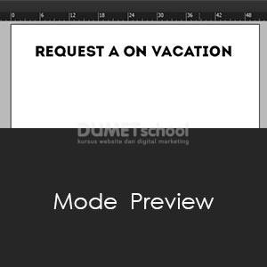Mode Preview Pada Adobe Indesign
