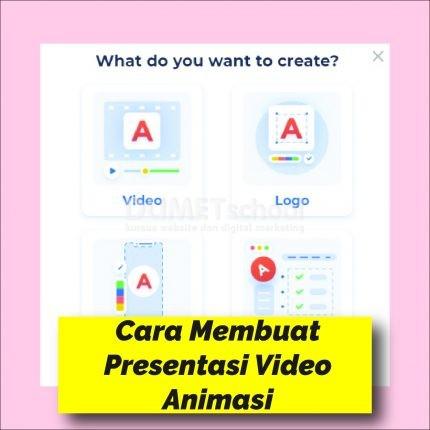 Cara Membuat Presentasi Video Animasi