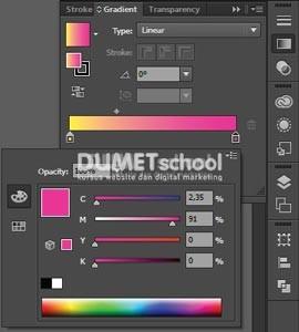 Membuat Warna Gradasi dengan Cepat