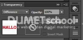 Cara Menggabungkan Warna Teks di Adobe Illustrator