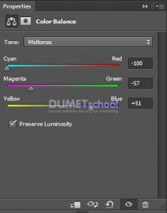 Memberi Efek Color Balance di Photoshop