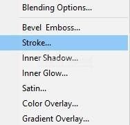 Membuat Stroke Pada Gambar PNG di Photoshop