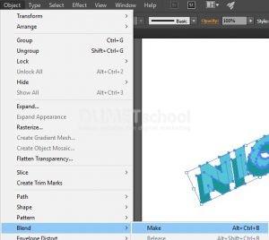 Mengubah Text 2D Menjadi 3D di Illustrator