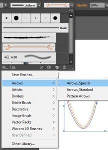 Mengganti Pola Pen Tool di Adobe Illustrator