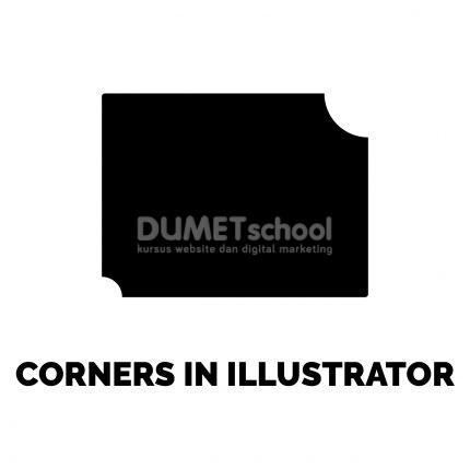 Mengubah Bentuk Sudut di Adobe Illustrator