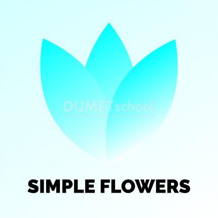 Membuat Bunga Simpel di Adobe Illustrator