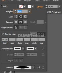 Membuat Objek Bulat Unik dengan Adobe Illustrator