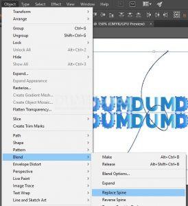 Membuat Text Menjadi Unik Dengan Blend Tool