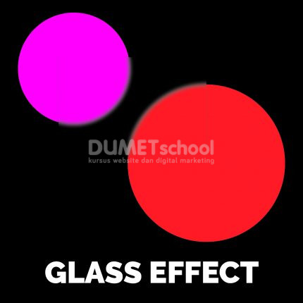 Membuat Efek Glass di Adobe Illustrator
