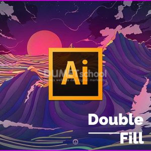 Cara Membuat Double Fill di Adobe Illustrator