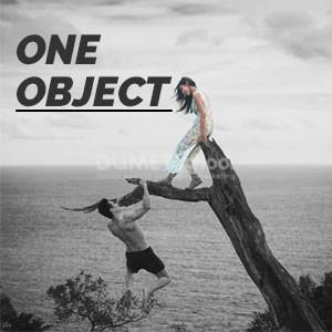 Membuat Gambar Fokus Pada Satu Objek