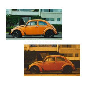 Membuat Gambar Mobil Menjadi Jadul