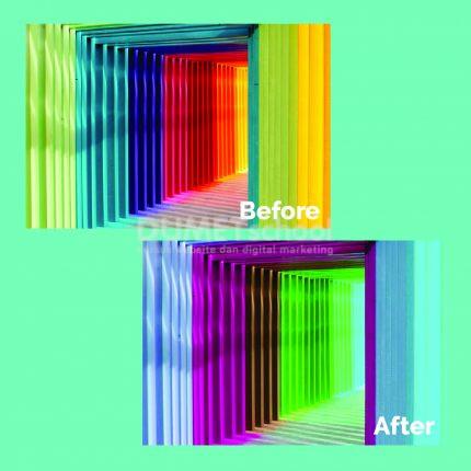 Manipulasi Gambar Dengan Menggunakan Hue Saturation