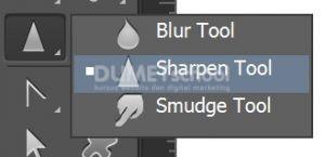 Menggunakan Sharpen Tool di Adobe Photoshop